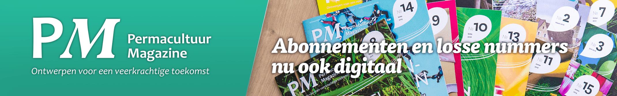 Permacultuur Magazine-winkel